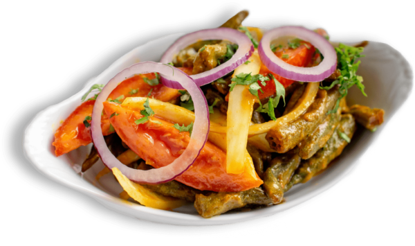 Bhindi Masala - Lady Fingers Best Indian Restaurant Toronto