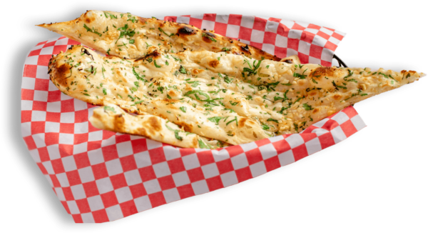 20% offer on Garlic Naan