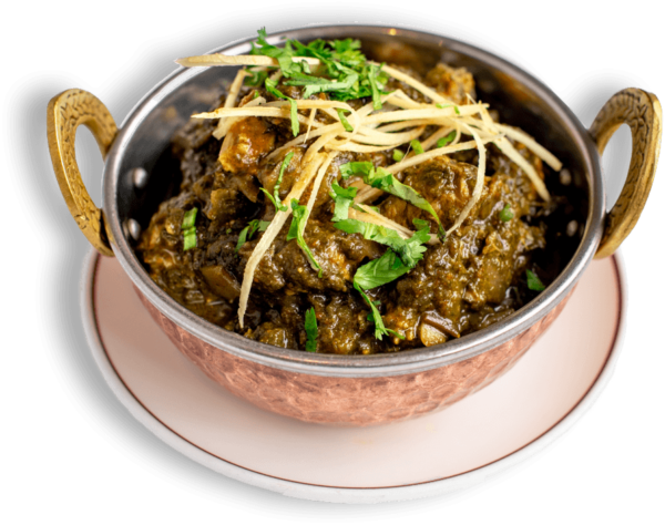 20% offer on Saag (lamb)