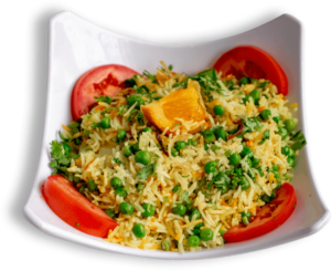 Peas Pulao Rice - The Best Indian restaurant toronto near me