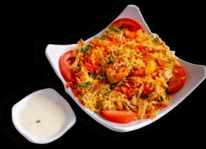 Shrimp Biryani Indian restaurant toronto near me