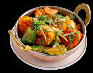 Shrimp Jalfrezi Best Indian restaurant toronto near me
