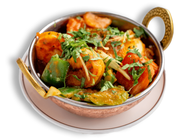 20% offer on Shrimp Jalfrezi