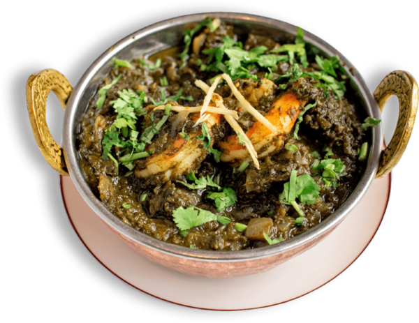 Shrimp Saag - Best Indian restaurant toronto near me