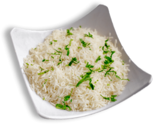 Steamed Rice - indian restaurant near me