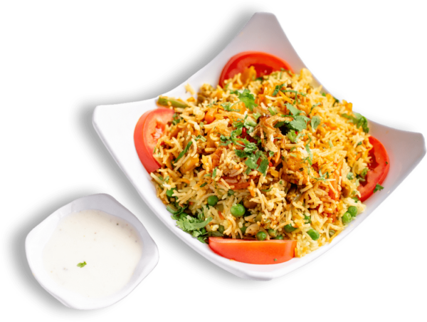 Vegetable Biryani - Indian Food Menu - The Best Indian restaurant toronto near me