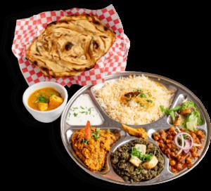 Vegetarian Thali - Indian Food Menu - The Best Indian restaurant toronto near me